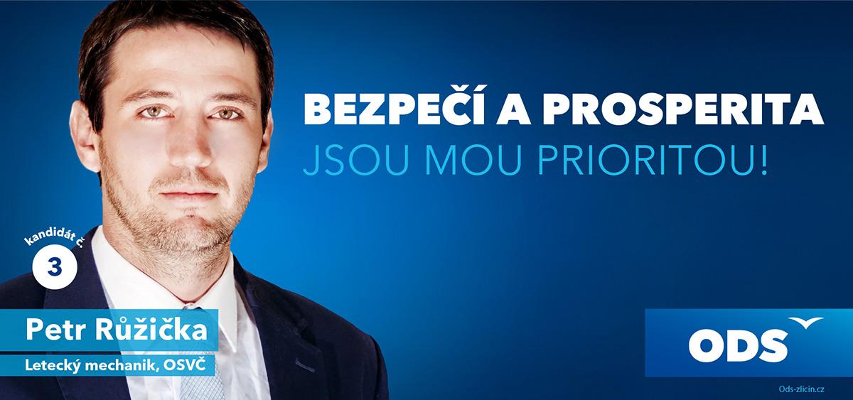 Petr Růžička - bezpečí a prosperita